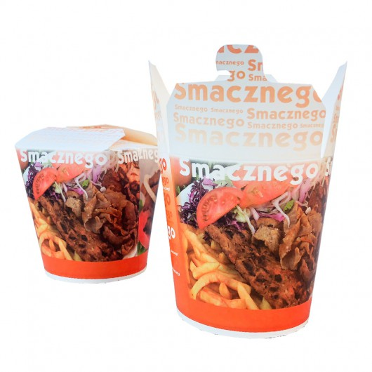 Kebap Box 1000 ml - 50 szt.